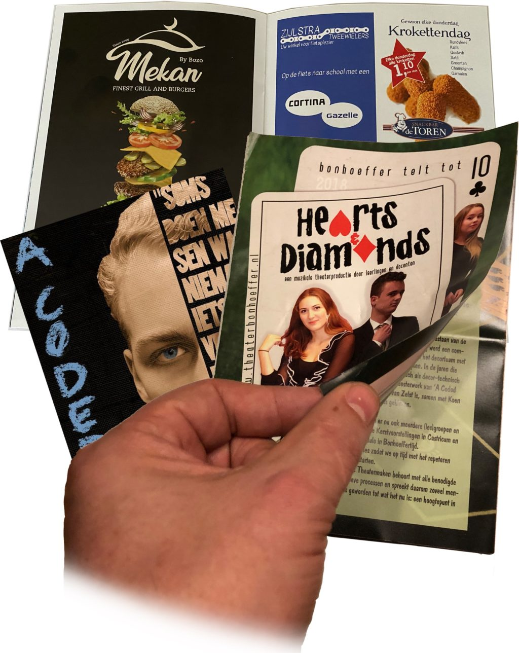 Adverteren programmaboekje
